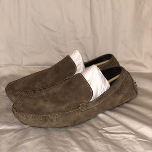 Cole Haan Nike Air Brown Suede Loafers